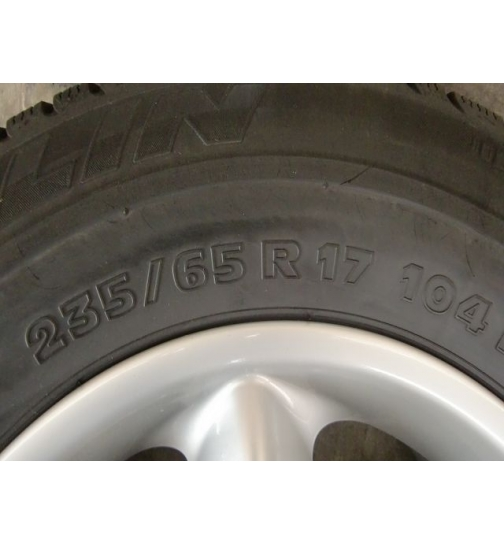 Winter Räder Reifen BMW X5 E53 Alufelge 235/65/17 Michelin Alpin 7.5x17